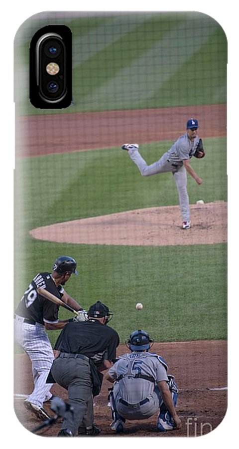 Jose Abreu IPhone X Case featuring the photograph Jose Abreu A L M V P - 3 by David Bearden