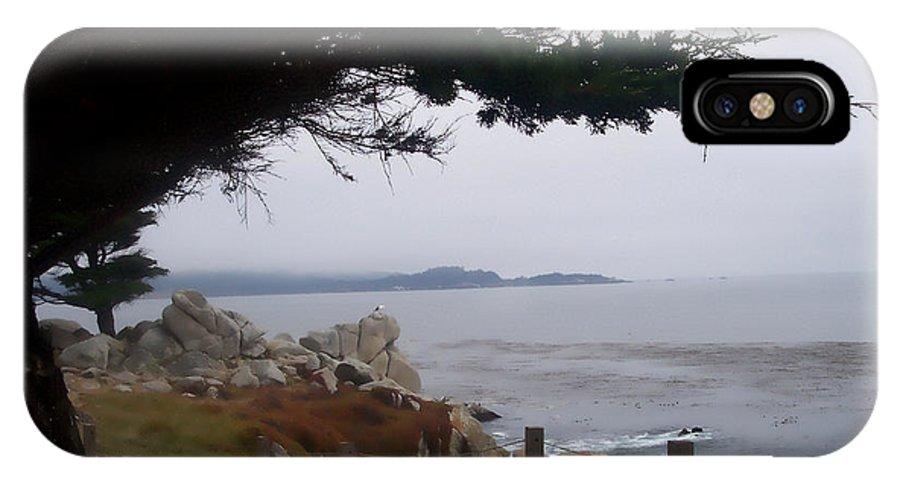 Beach IPhone X Case featuring the photograph Near Carmel by Pharris Art