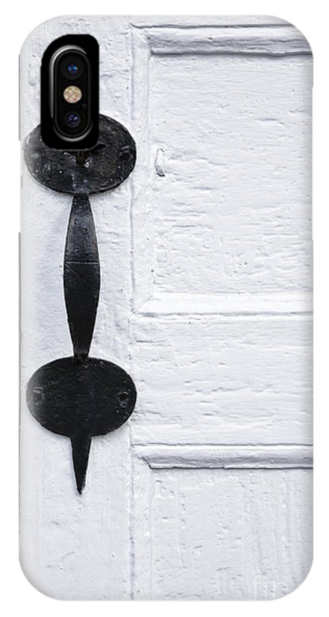 Buildings IPhone X Case featuring the photograph Rockingham Meetinghouse - Rockingham Vermont by Erin Paul Donovan