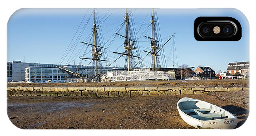 18th Century IPhone X Case featuring the photograph Salem Maritime National Historic Site in Salem Massachusetts USA by Erin Paul Donovan