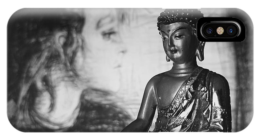 Buddha IPhone X Case featuring the photograph The Healer by Barista Uno