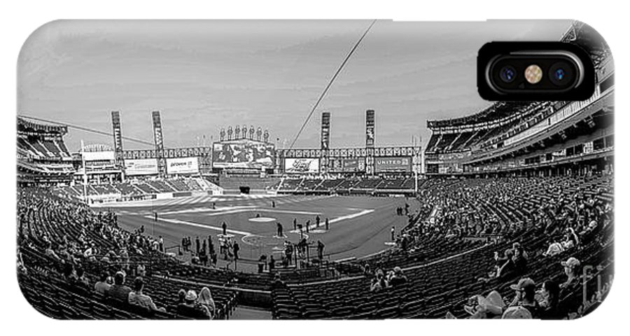 White Sox IPhone X Case featuring the photograph White Sox Park by David Bearden