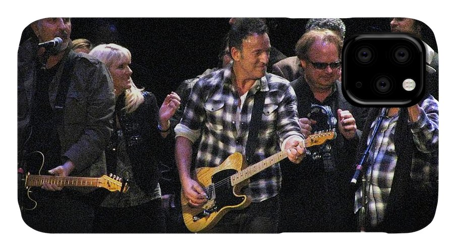 Bruce Springsteen IPhone Case featuring the photograph Bruce Springsteen by Melinda Saminski