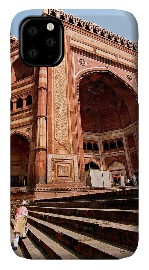 Buland Darwaza IPhone 11 Case featuring the photograph Buland Darwaza 1 by Devinder Sangha