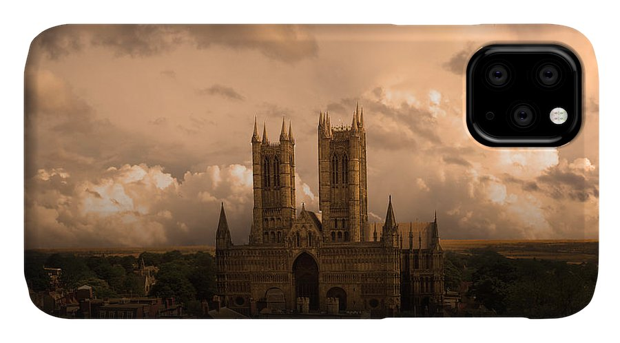 Avro IPhone Case featuring the digital art Cathedral Pass by Airpower Art