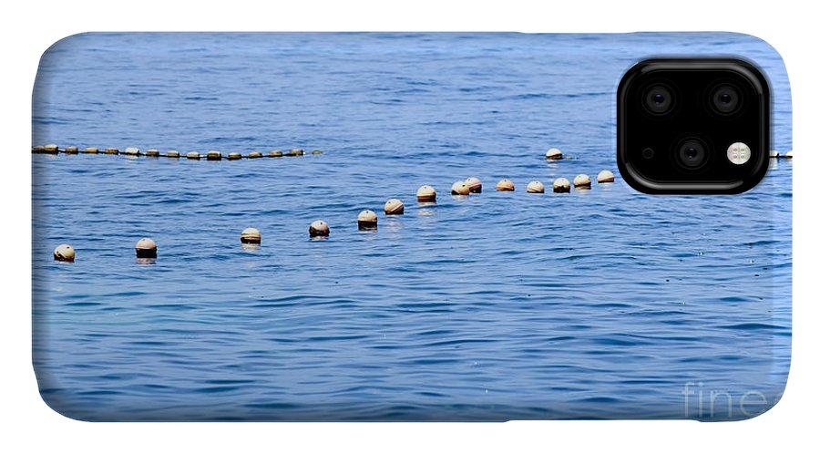 Malaysia IPhone 11 Case featuring the photograph Ocean Buoys 1 by Tim Hester