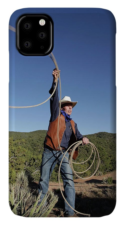 Cowboy IPhone 11 Case featuring the photograph Santa Fe, New Mexico, United States by Julien Mcroberts