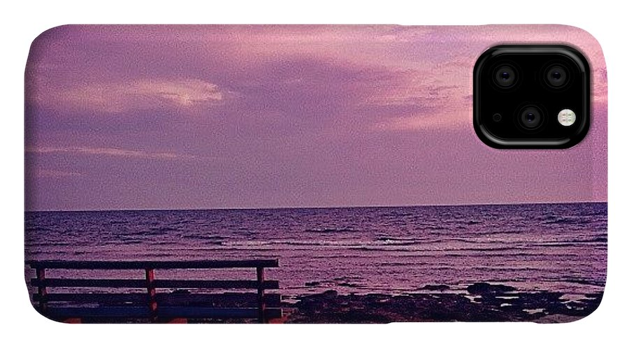 Love IPhone 11 Case featuring the photograph Sunset by Emanuela Carratoni
