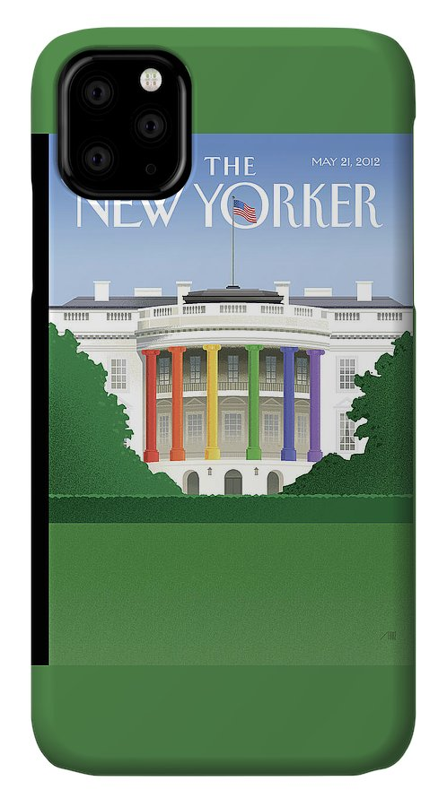 President IPhone Case featuring the painting Spectrum Of Light by Bob Staake