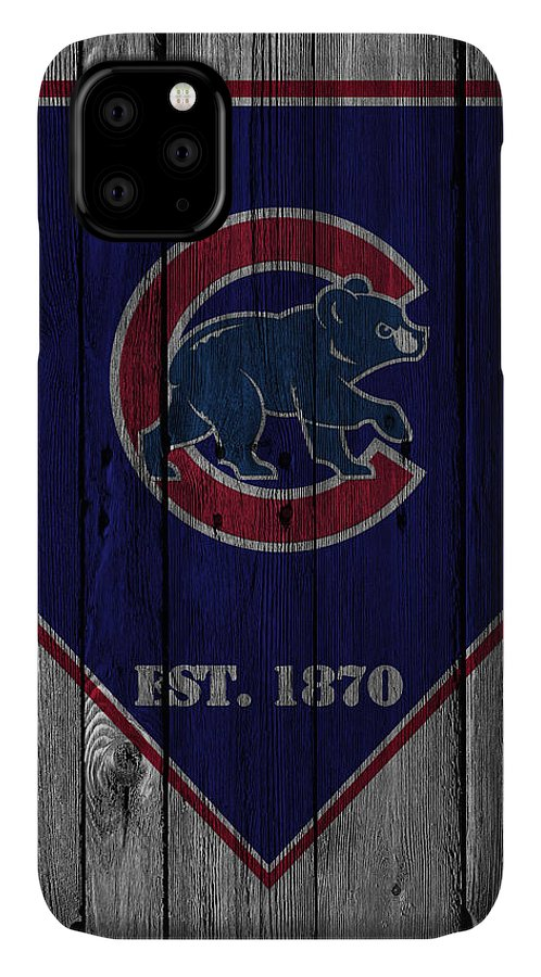 Cubs IPhone Case featuring the photograph Chicago Cubs by Joe Hamilton