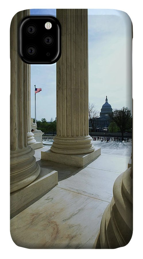 Capitol Building IPhone Case featuring the photograph Usa, Washington, D 10 by Jaynes Gallery