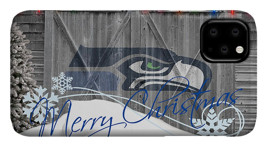 Seahawks IPhone Case featuring the photograph Seattle Seahawks by Joe Hamilton