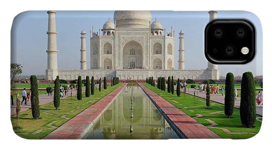 Agra IPhone Case featuring the photograph Asia, India, Uttar Pradesh, Agra by Steve Roxbury