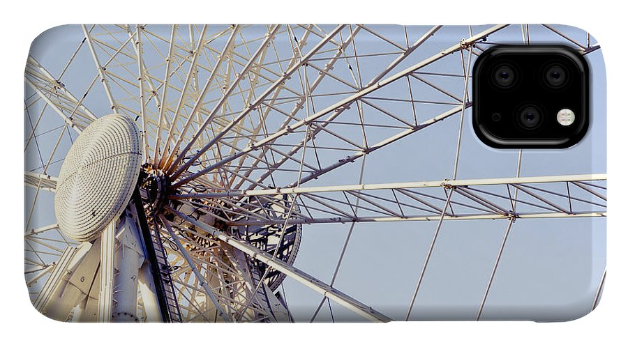 Action IPhone Case featuring the photograph Big Wheel by Tom Gowanlock