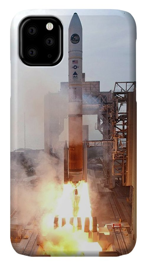 Delta Iv IPhone 11 Case featuring the photograph Delta Iv Rocket Launch by National Reconnaissance Office