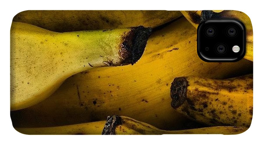 Foodgasm IPhone 11 Case featuring the photograph Bananas by Jason Michael Roust