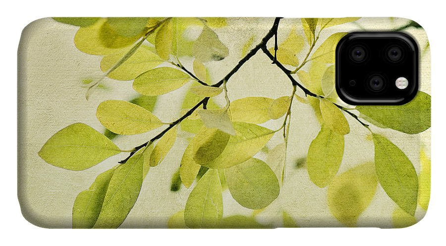 Foliage IPhone Case featuring the photograph Green Foliage Series by Priska Wettstein