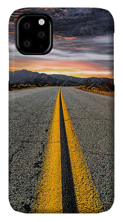 Desert Landscape IPhone Case featuring the photograph On Our Way by Ryan Weddle