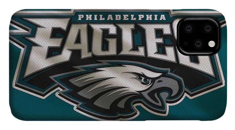 Eagles IPhone Case featuring the photograph Philadelphia Eagles Uniform 2 by Joe Hamilton