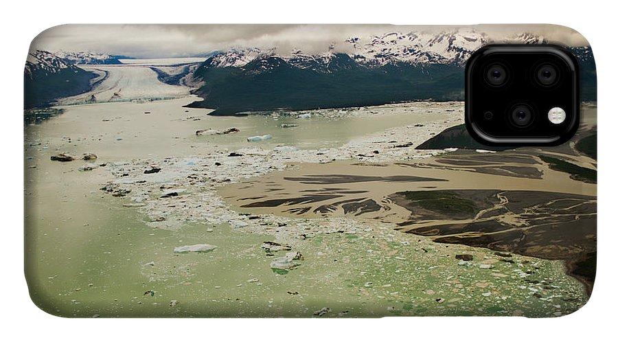 Alaska - Usa State IPhone 11 Case featuring the photograph Tatshenshini River by Glenn Oakley