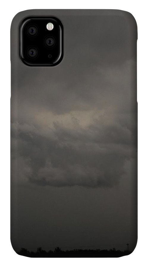 Stormscape IPhone 11 Case featuring the photograph Let The Storm Season Begin 11 by NebraskaSC