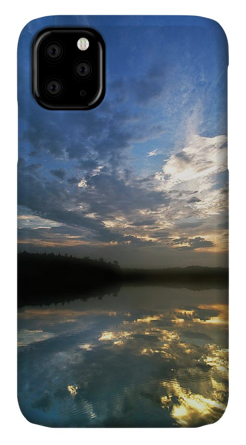 Cloud IPhone 11 Case featuring the photograph Usa, Michigan, Upper Peninsula by Jaynes Gallery