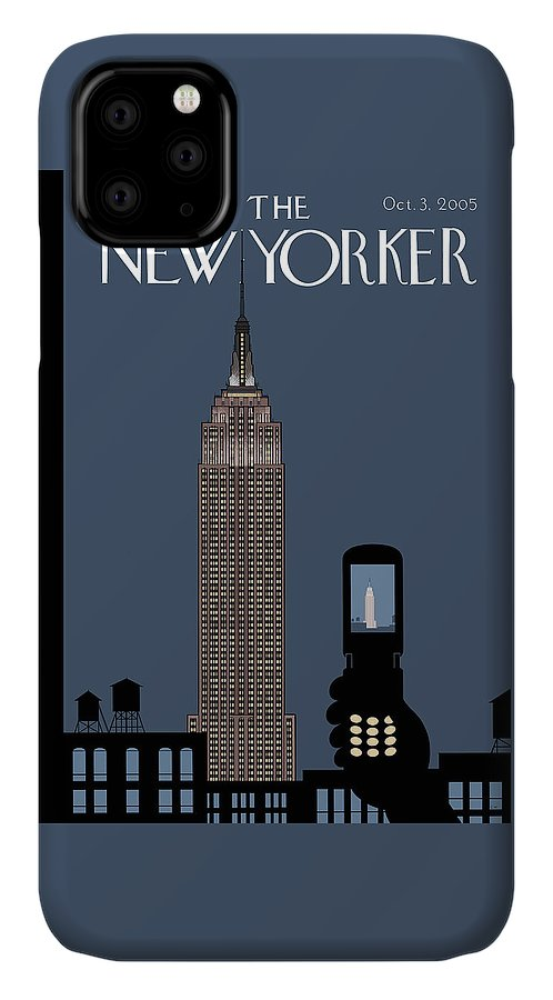 Hold Still IPhone Case featuring the painting Hold Still by Chris Ware