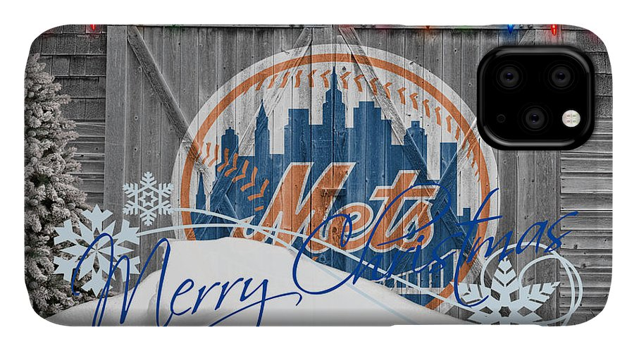 Mets IPhone Case featuring the photograph New York Mets by Joe Hamilton