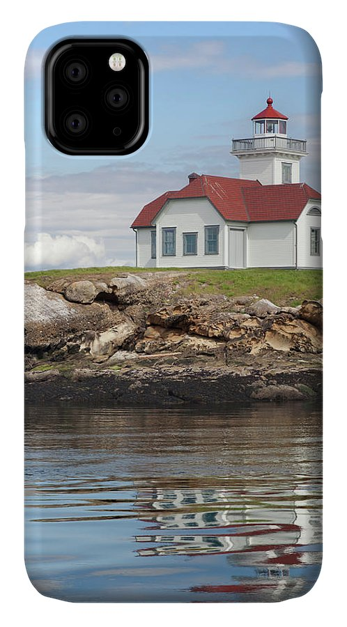 Cloud IPhone 11 Case featuring the photograph Usa, Washington, San Juan Islands by Jaynes Gallery