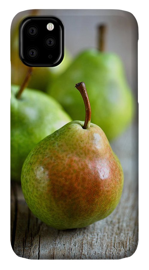Pear IPhone 11 Case featuring the photograph Pears 7 by Nailia Schwarz