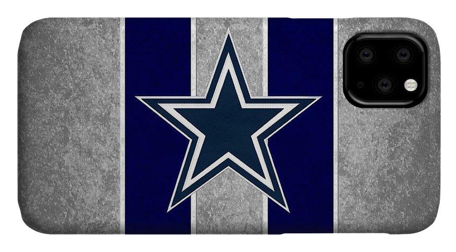 Cowboys IPhone Case featuring the photograph Dallas Cowboys by Joe Hamilton