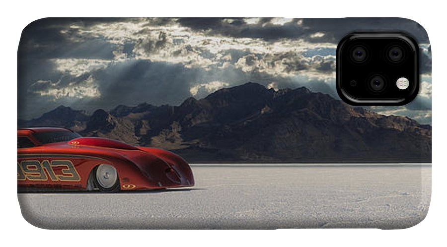 Bonneville IPhone Case featuring the photograph 9913 by Keith Berr
