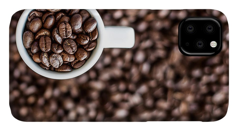 Espresso IPhone Case featuring the photograph A Familiar Blend by Aaron Aldrich