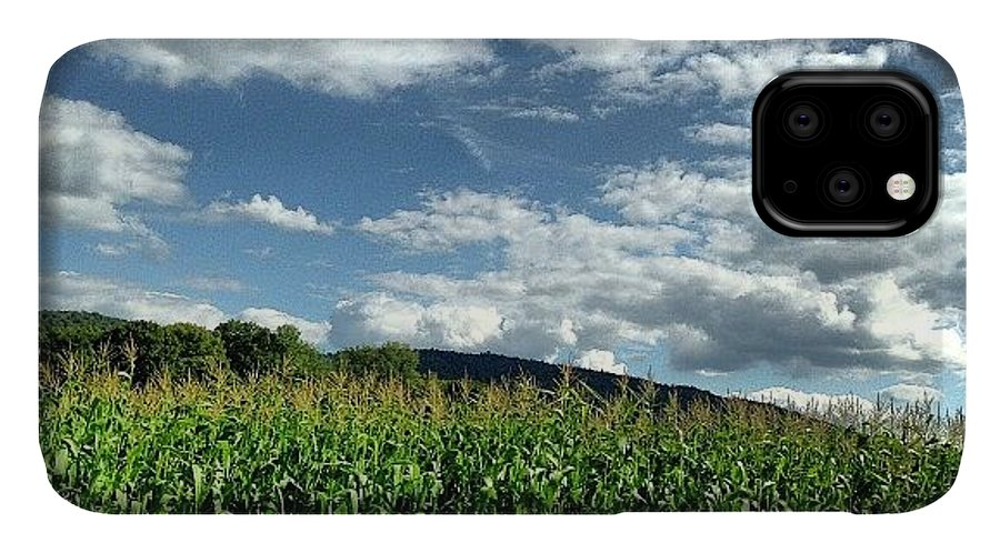 Corn IPhone 11 Case featuring the photograph A Perfect Day In Vermont by Tammy Wetzel