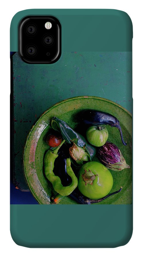 Fruits IPhone Case featuring the photograph A Plate Of Vegetables by Romulo Yanes