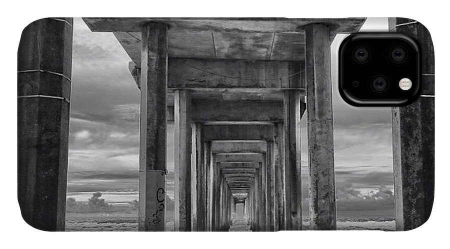 IPhone Case featuring the photograph A Stormy Day In San Diego At The by Larry Marshall