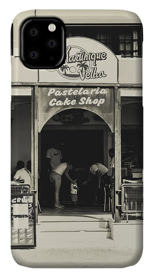 Street IPhone Case featuring the photograph Albufeira Street Series - Martinique Velha by Marco Oliveira