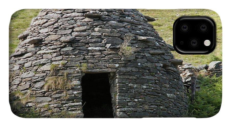 Clochan IPhone Case featuring the photograph Ancient Beehive Hut by Sinclair Stammers