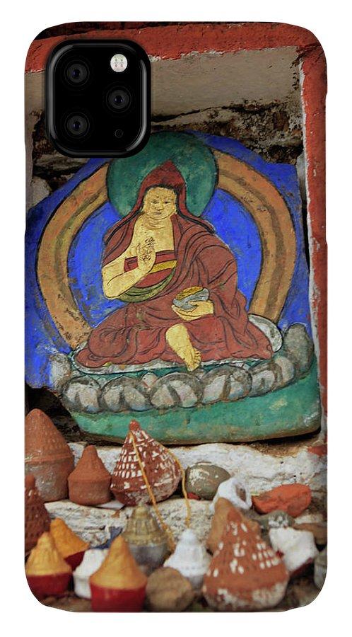 Altar IPhone 11 Case featuring the photograph Asia, Bhutan, Paro by Kymri Wilt