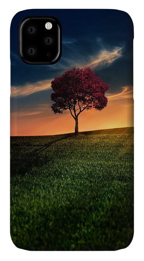 Agriculture IPhone Case featuring the photograph Awesome Solitude by Bess Hamiti