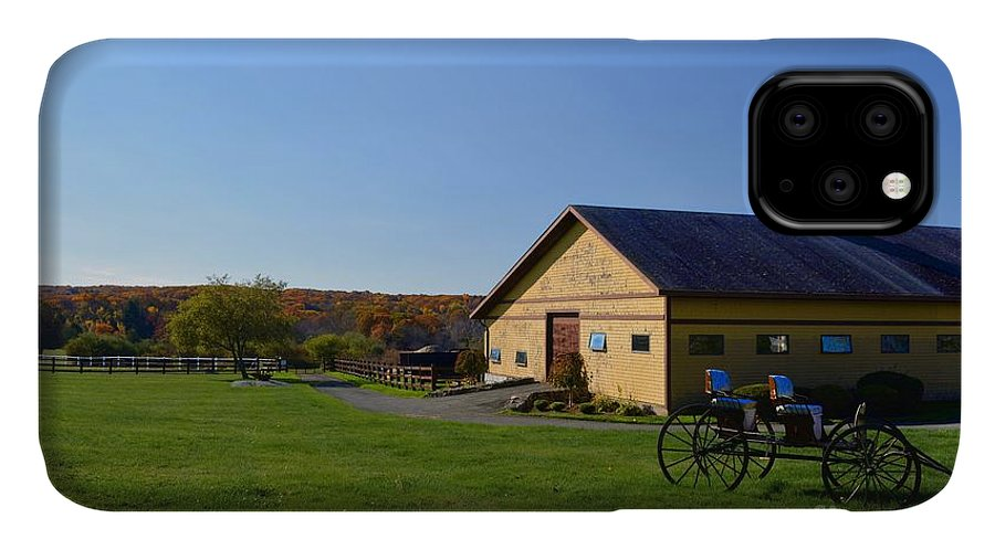 IPhone Case featuring the photograph Barn In The Fall by Tammie Miller
