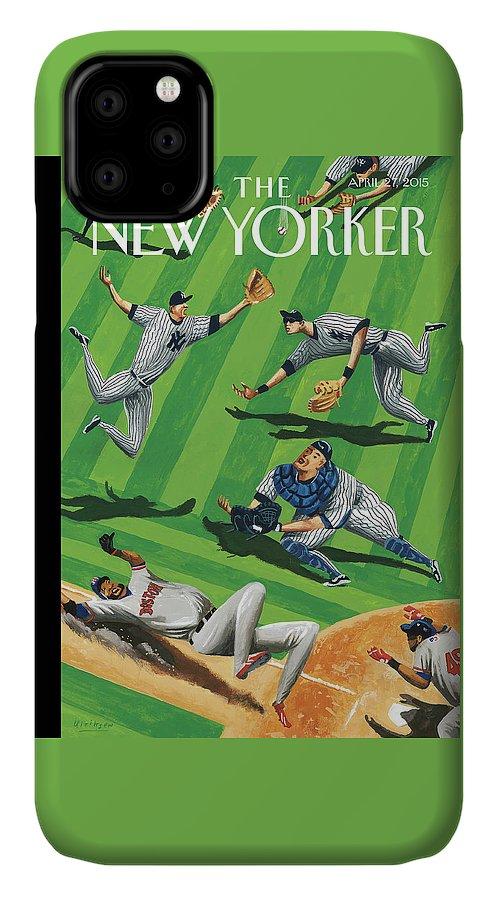 Baseball Ballet IPhone Case