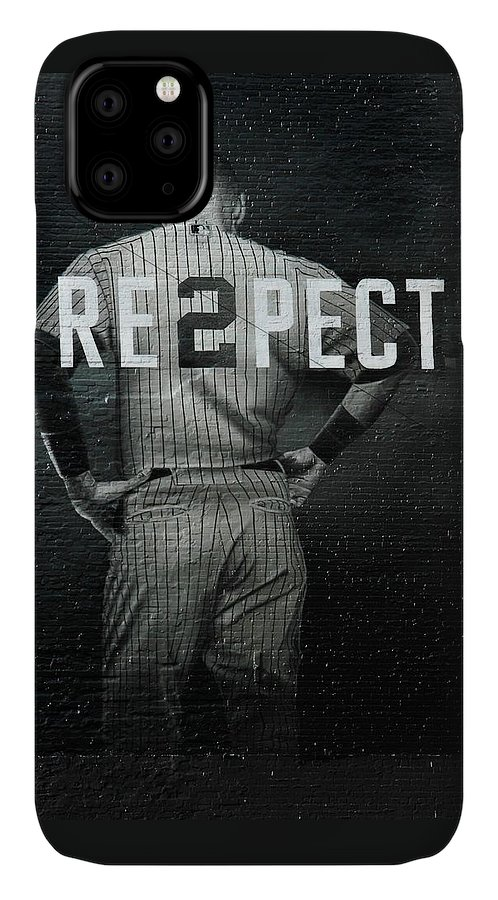 Yankees IPhone Case featuring the photograph Derek Jeter NY by Jewels Hamrick