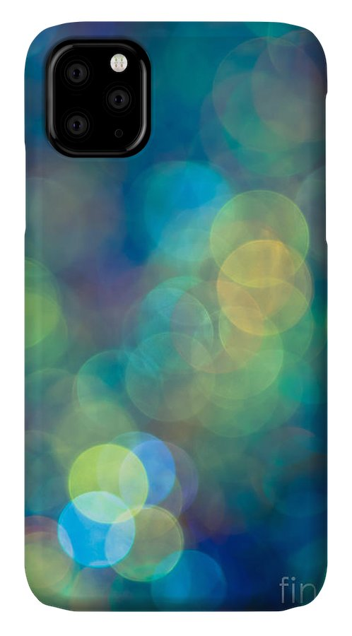 Sparkle Lights IPhone Case featuring the photograph Blue of the Night by Jan Bickerton