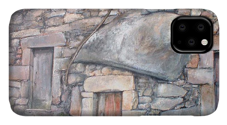 Fermoselle IPhone Case featuring the painting Bodega en Fermoselle by Tomas Castano