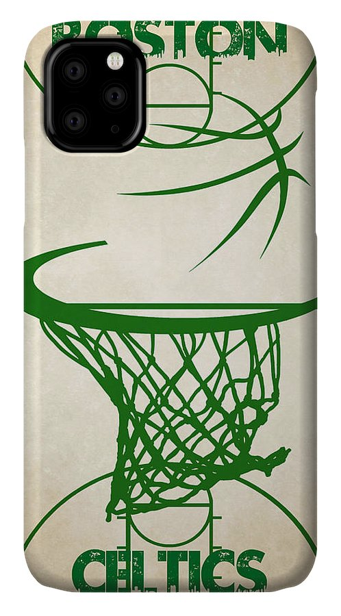 Celtics IPhone Case featuring the photograph Boston Celtics Court by Joe Hamilton