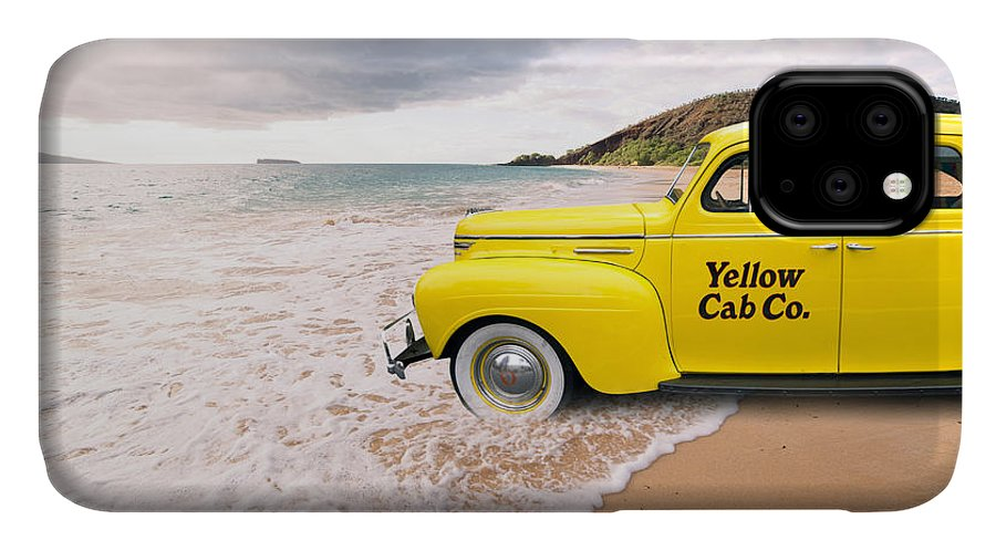 Hawaii IPhone 11 Case featuring the photograph Cab Fare To Maui by Edward Fielding