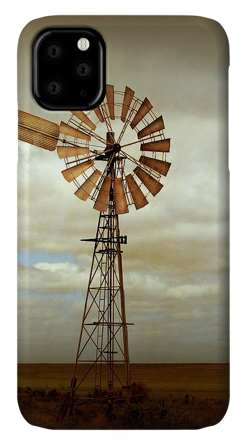 Windmill IPhone Case featuring the photograph Catch the Wind by Holly Kempe