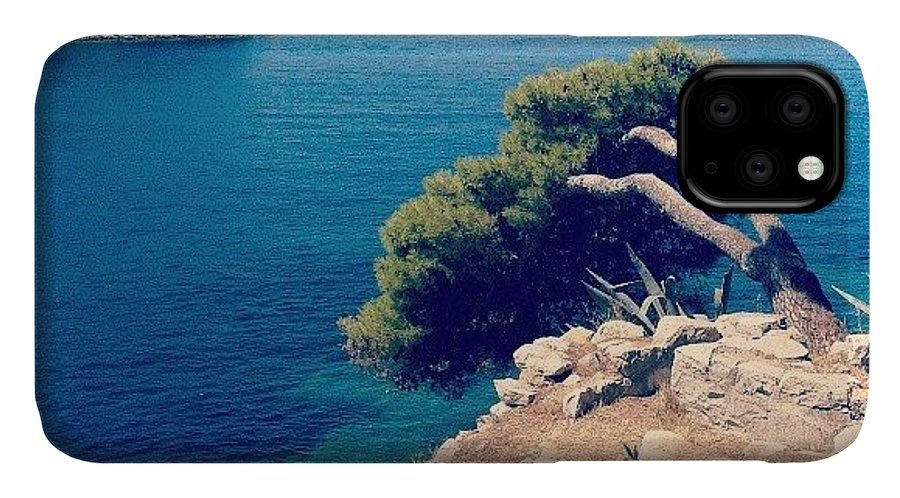 Croatia IPhone 11 Case featuring the photograph Cavtat - Croazia by Emanuela Carratoni