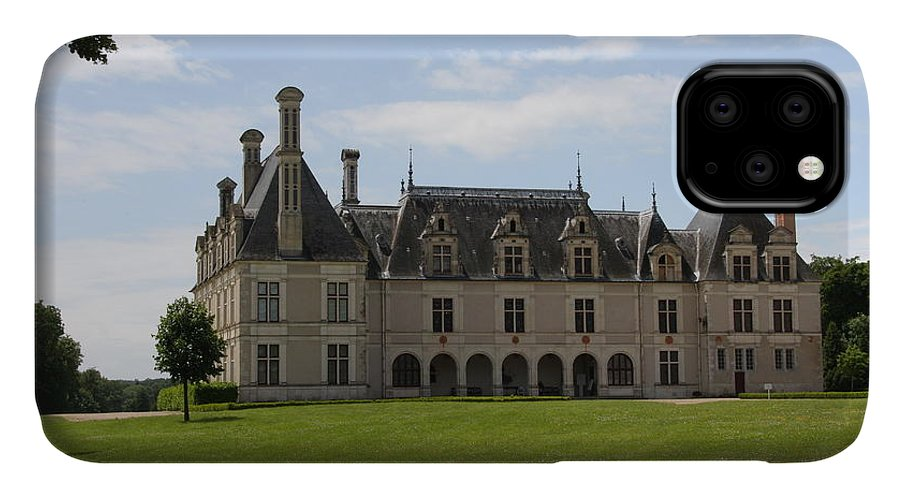 Palace IPhone Case featuring the photograph Chateau Beauregard Loire Valley by Christiane Schulze Art And Photography